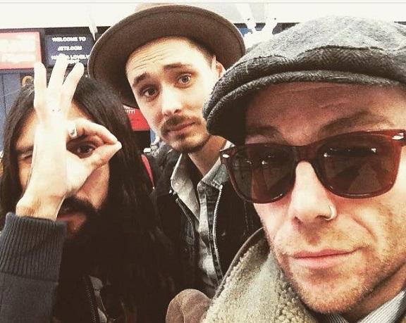Jimi, Nick & Ash.