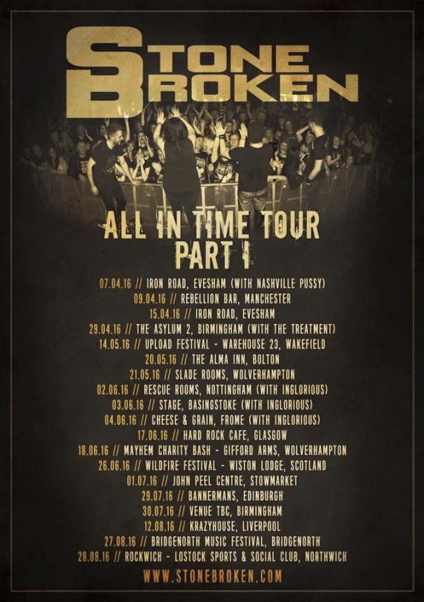 Stone Broken Tour